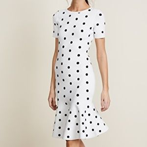 Milly Dot Midi Dress